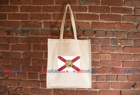 Florida Flag Tote Bag