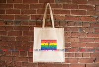 Indiana LGBT Pride Flag Tote Bag