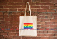 Indonesia LGBT Pride Flag Tote Bag