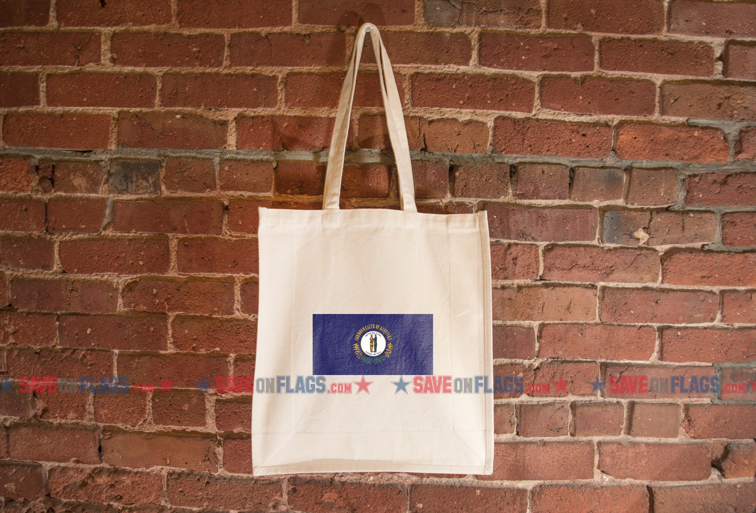 Kentucky Flag Tote Bag