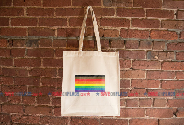 More Color, More Pride Flag Tote Bag