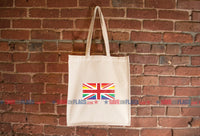 United Kingdom LGBT Pride Flag Tote Bag