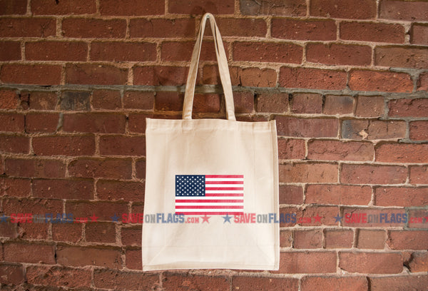 United States Flag Tote Bag