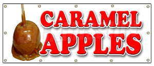 Caramel Apples Banner