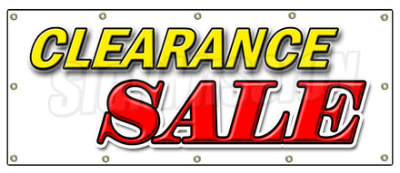 Shop Clearance Sale Banner