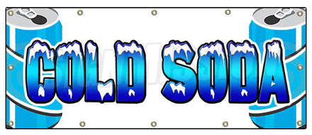 Cold Soda Banner