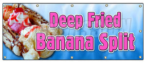 Deep Fried Banana Split Banner