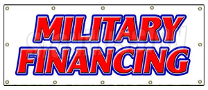 Military Financing Banner