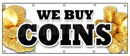 We Buy Coins Banner