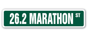 26.2 Marathon Street Vinyl Decal Sticker