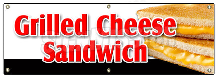 Grilled Cheese Sandwich Banner