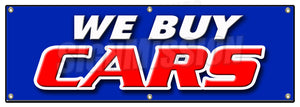 We Buy Cars Banner