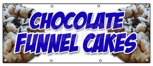 Chocolate Funnel Cakes Banner