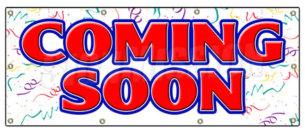 Coming Soon Advertising Banner
