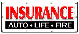 Insurance Auto Life Fire Banner
