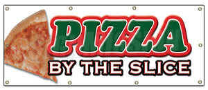 Pizza by the Slice Banner