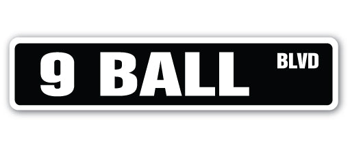 9 Ball Street Vinyl Decal Sticker