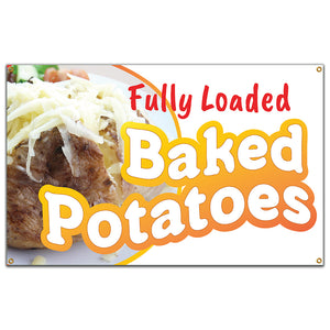 Baked Potatoes Banner