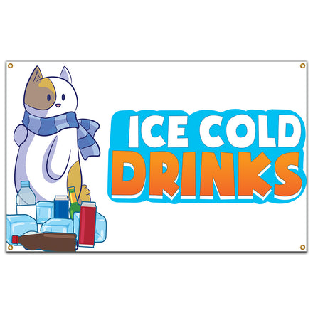 Ice Cold Drinks 1 Banner