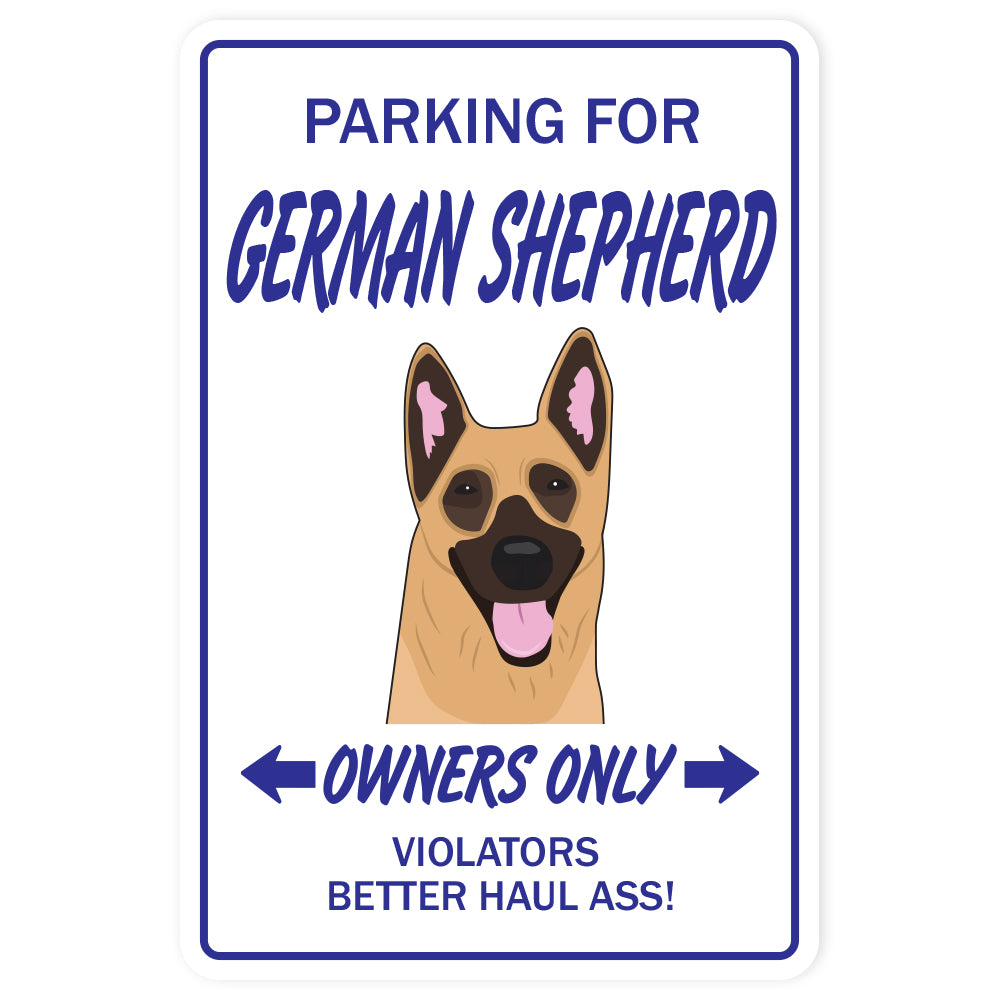 GERMAN SHEPHERD Sign
