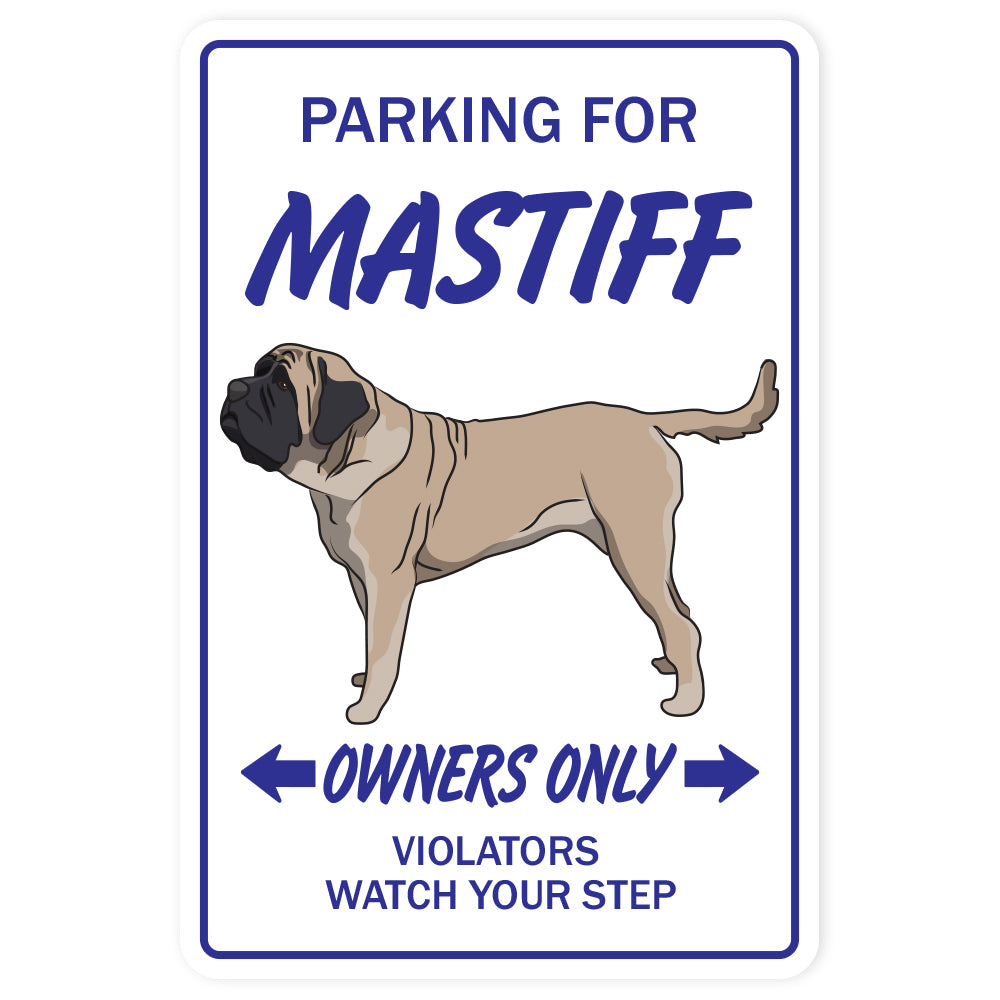 Mastiff Street Vinyl Decal Sticker