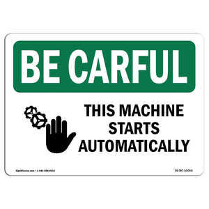 This Machine Starts Automatically