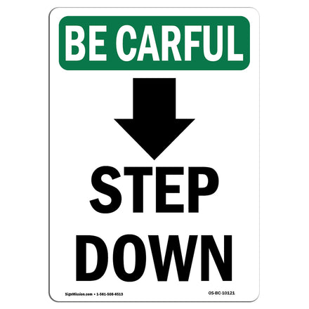 Step Down [Down Arrow] With Symbol