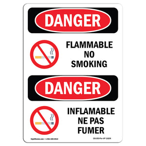 Flammable No Smoking