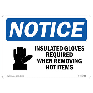 Insulated Gloves Required