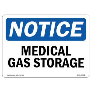 Medical Gas Storage