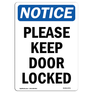 Please Keep Door Locked