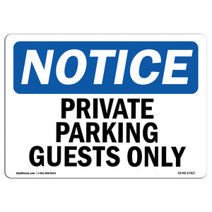 Private Parking Guests Only