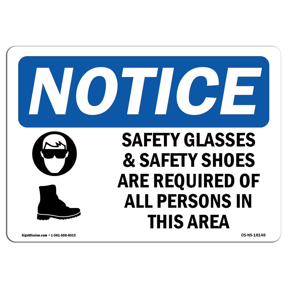 Safety Glasses & Safety Shoes
