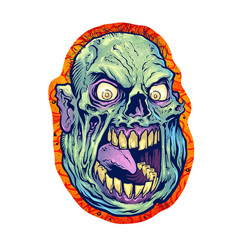 Zombie Monster Vinyl Decal Sticker