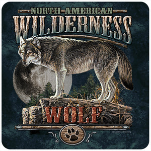 Wolf Wilderness Vinyl Decal Sticker