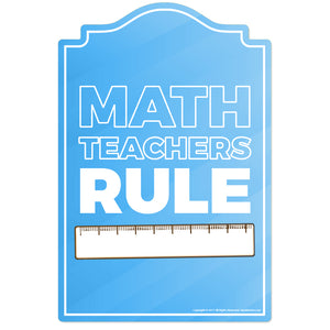 Math Teacher 2 Vinyl Decal Sticker