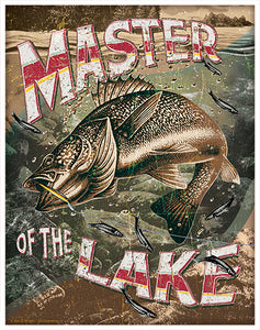 Master Of The Lake Vinyl Decal Sticker