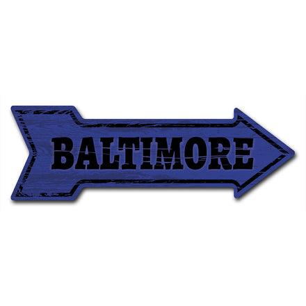 Baltimore Arrow Sign