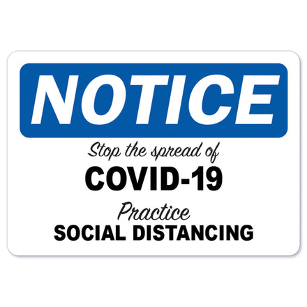 Stop The Spread Of Covid-19