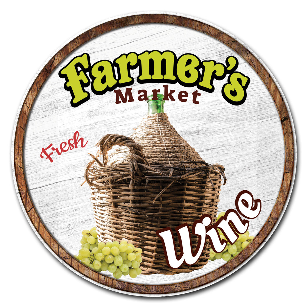 Farmer's Market Wine Circle