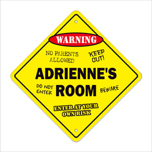 Adrienne's Room Sign