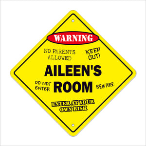 Aileen's Room Sign