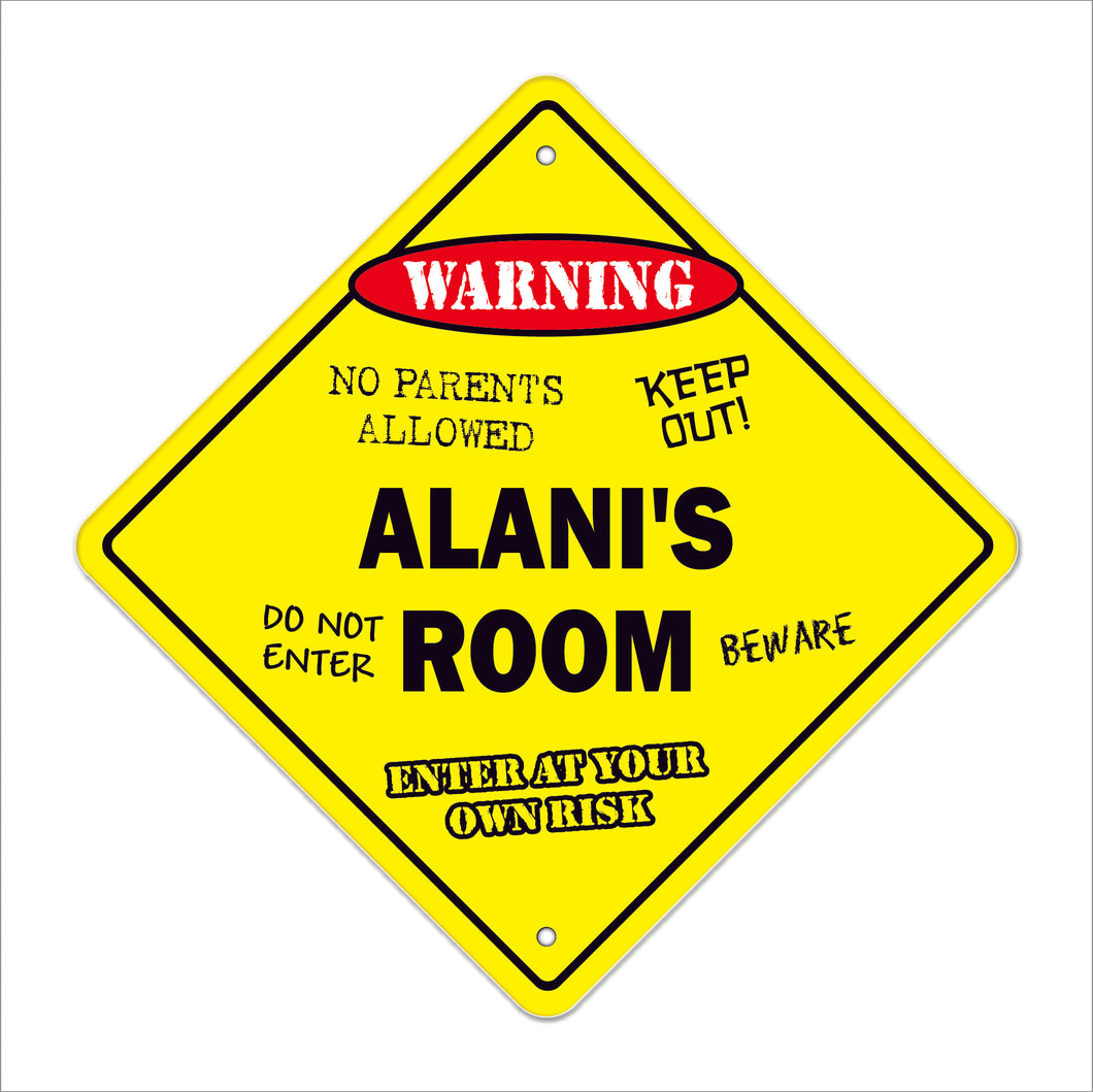 Alani's Room Sign