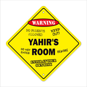 Yahir's Room Sign