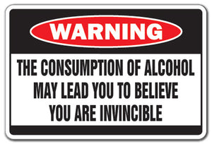 Alcohol May Lead To.. Vinyl Decal Sticker
