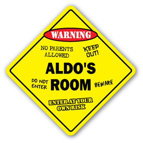Aldo's Room Vinyl Decal Sticker