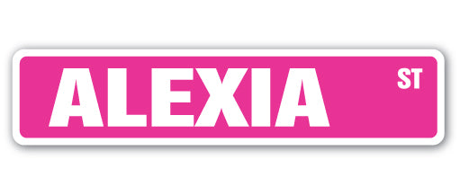 Alexia Street Vinyl Decal Sticker