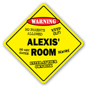 Alexis' Room Vinyl Decal Sticker