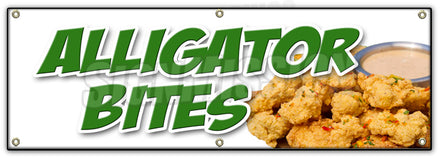 Alligator Bites Banner
