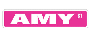 Amy Street Vinyl Decal Sticker